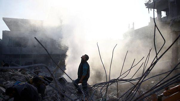 Атака дронов на объекты РФ в Сирии
