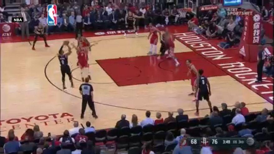 NBA: Houstan Rockets Portland deplasmanında galip geldi