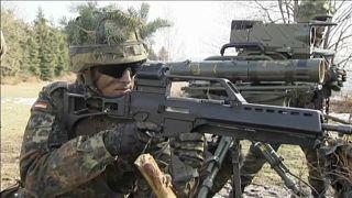 Exército alemão recruta cada vez mais menores