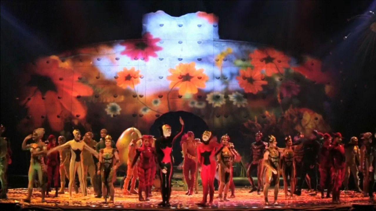 Gli insetti del Cirque du Soleil a Londra