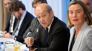 Jean-Yves Le Drian, ministre français des Affaires étrangères,
