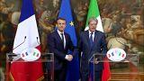 Рим и Париж едины по вопросам миграции