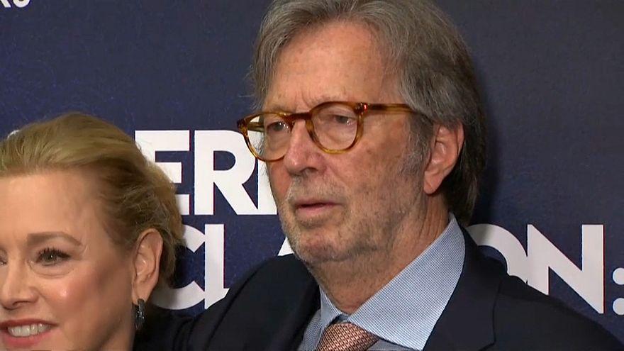 """Documentário retrata """"´céu e inferno"""" de Eric Clapton"""