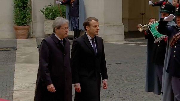 Migrações unem Itália e França