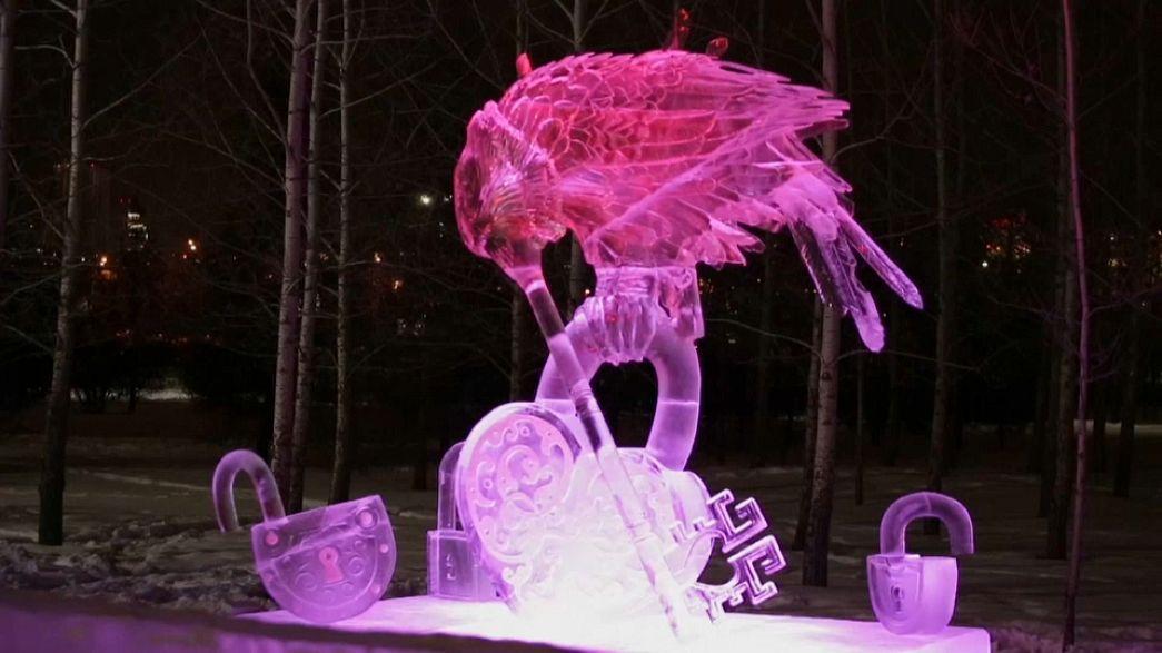 Волшебный лёд Сибири