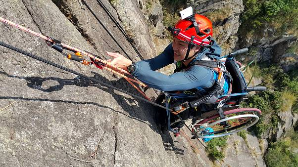 Lai Chi-Wai conquistou o Lion Rock, uma montanha com 495 metros de altura