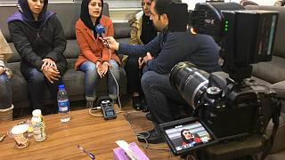 Iran tanker oil burned member's Family