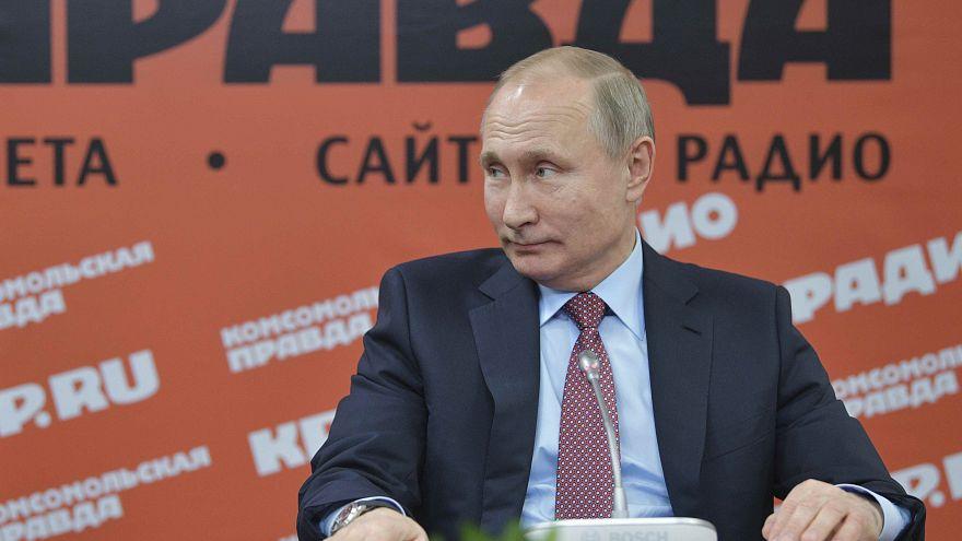 Путин: дроны в Сирии запущены не турками