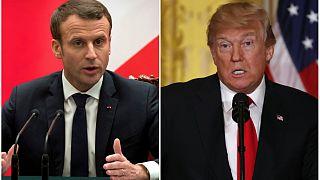 روسای جمهور آمریکا و فرانسه