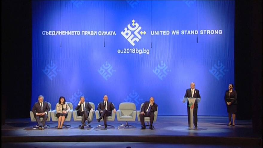 Bulgaria takes over the EU's rotating six-month presidency