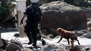 Kalifornien: Suche nach Vermissten in Schlammlawinen
