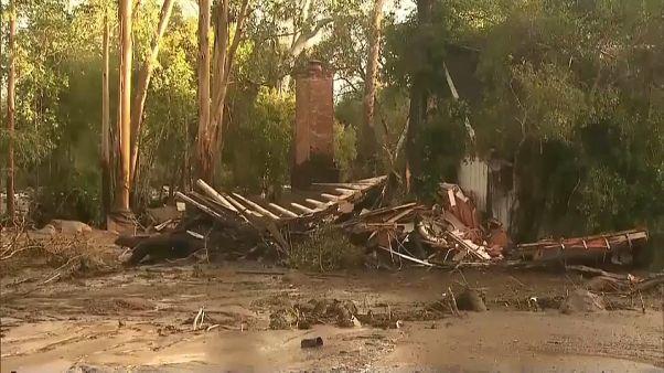 Deslizamento de terras na Califórnia causa vítimas mortais