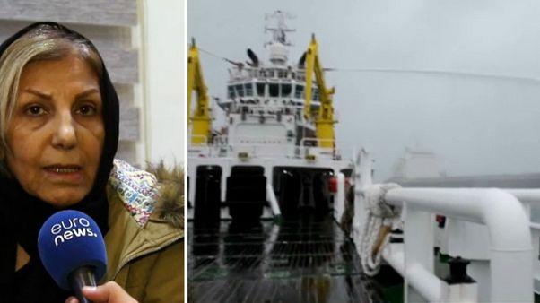 Familiares de los desaparecidos del petrolero iraní Sanchi piden ayuda internacional