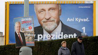 Primera vuelta de las elecciones presidenciales en la República Checa