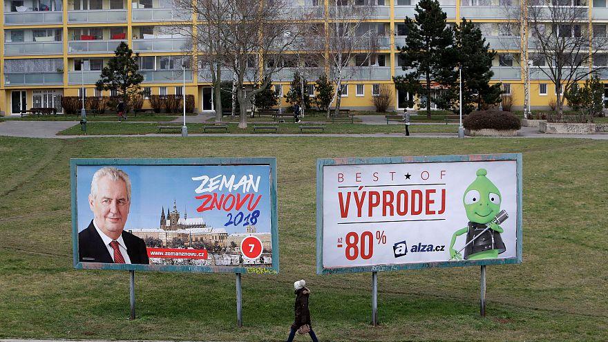 Çek seçmen cumhurbaşkanını seçiyor
