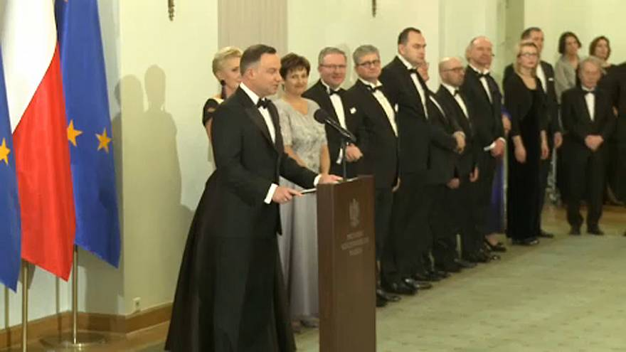 Brüsszelt kritizálta a lengyel elnök