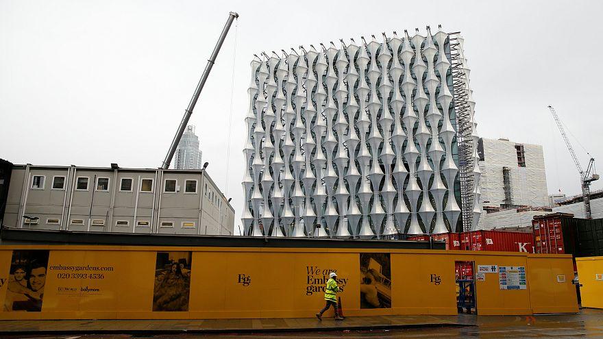 Gebäude der neuen US-Botschaft in London