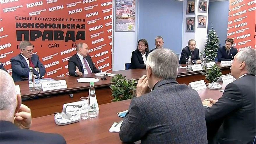 """Путин: вмешиваться в выборы в Италии """"нет смысла"""""""