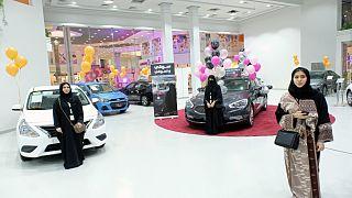Saudi motor show for women