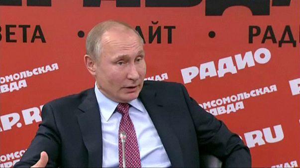 """Владимир Путин: """"США постоянно во все вмешиваются"""""""