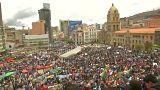 Bolivya'da Dakar Rallisi protestosu