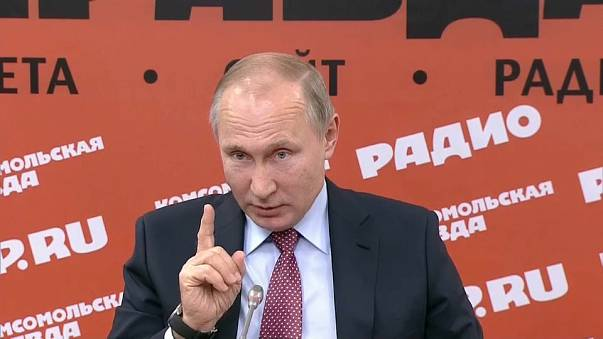 """Putin: """"Attacchi a basi russe in Siria non son opera di Ankara"""""""