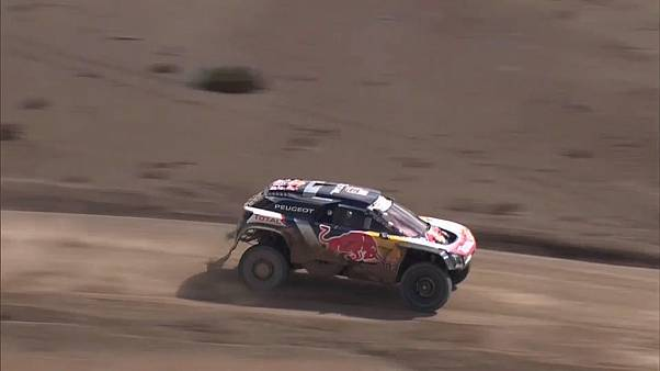 Spain's Carlos Sainz wins stage six of Dakar Rally