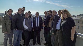 Ένας κοσμοναύτης στο Euronews: O Θεόδωρος Γιουρτσίχιν στα γραφεία μας