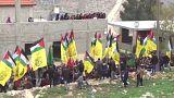 تشييع شابين فلسطينيين قتلا برصاص القوات الإسرائيلية في نابلس وغزة