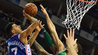 NBA: Boston Celtics gewinnen in London