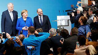 آلمان؛ توافق مرکل با سوسیال دمکرات ها برای تشکیل دولت ائتلافی