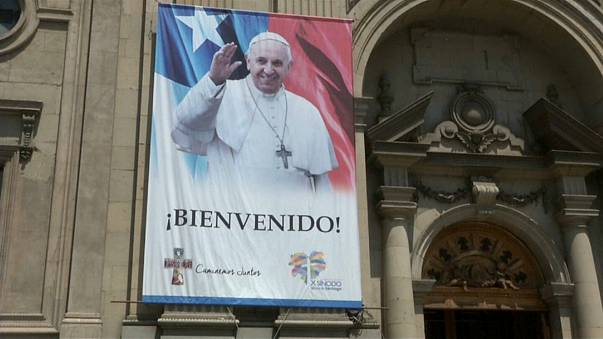 Not everyone is happy the Pope is in Chile.
