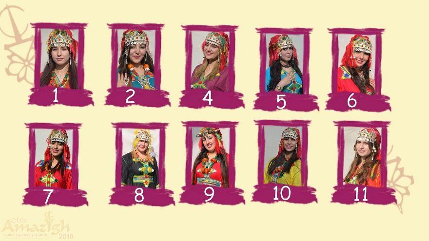 """مغربيات يتنافسن على لقب """"ملكة جمال الأمازيغ"""" في رأس السنة الأمازيغية"""