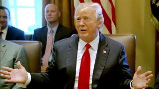 Donald Trump'tan 'lağım çukuru' düzeltmesi