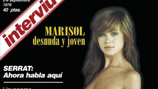 Facebook censura el posado de Marisol y otros signos del fin de la era de Interviú