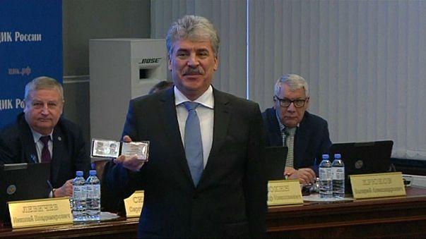 Грудинин стал вторым зарегистрированным кандидатом