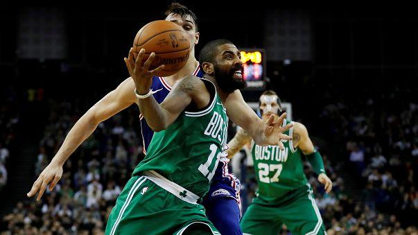Celtics obtêm em Londres sétima vitória consecutiva