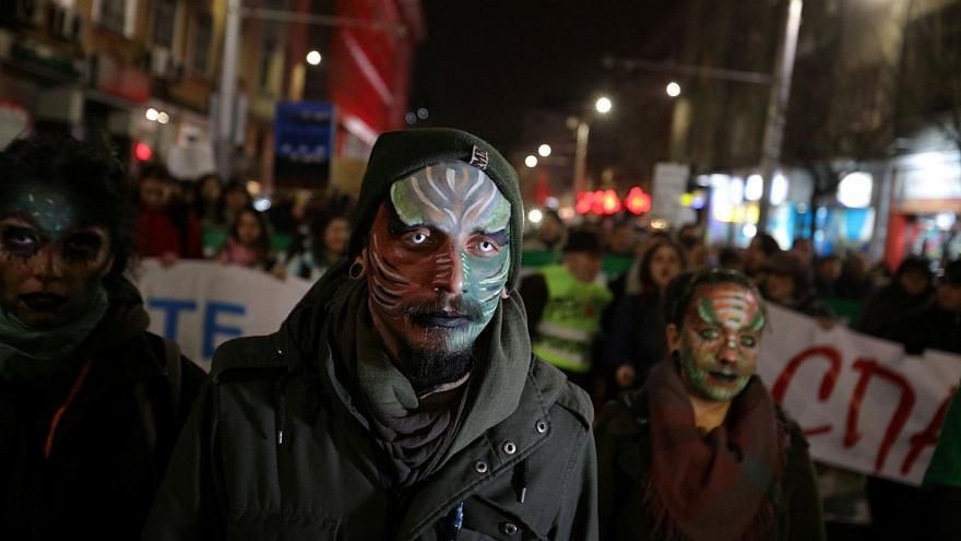 Why thousands of people protested as Bulgaria began EU presidency