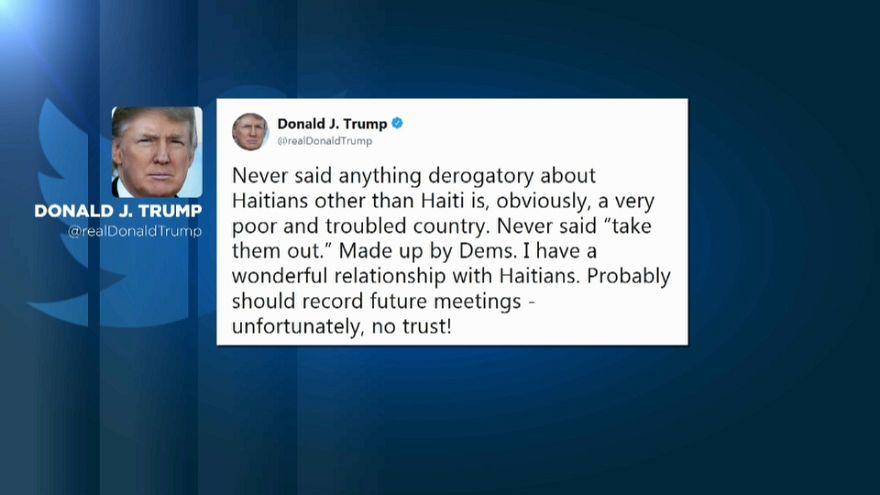 """Trump acusa a los demócratas de poner en su boca los """"agujeros de mierda"""""""