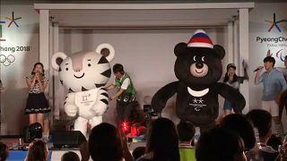 Pyeongchang Oyunları'nın madalya ve maskotları tanıtıldı