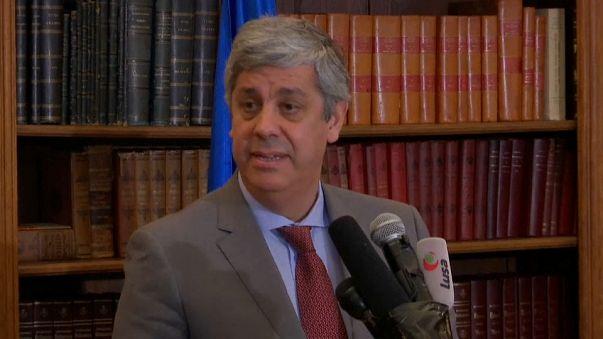 Passaggio di cosegne all'Eurogruppo: il portoghese Centeno nuovo presidente