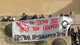 Греки отстаивают право на забастовку