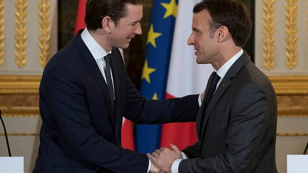 Kurz bei Macron: Lob und ein Rüffel