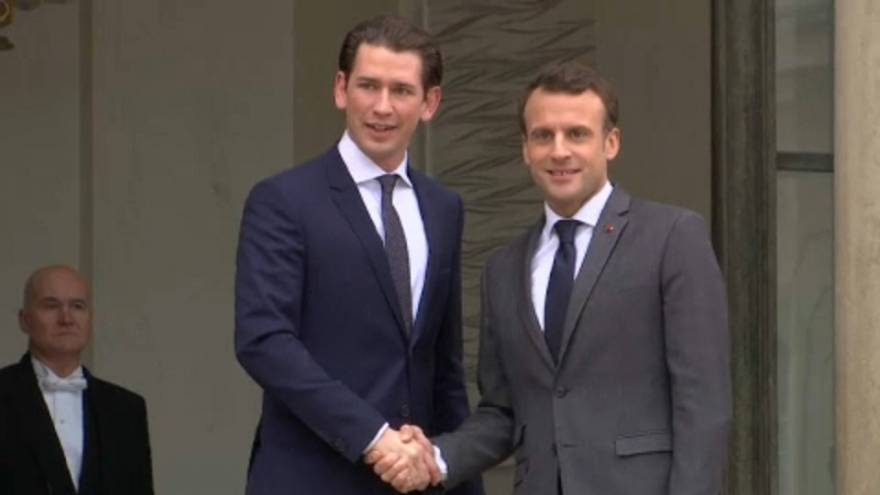 Macron örül a német koalíciónak