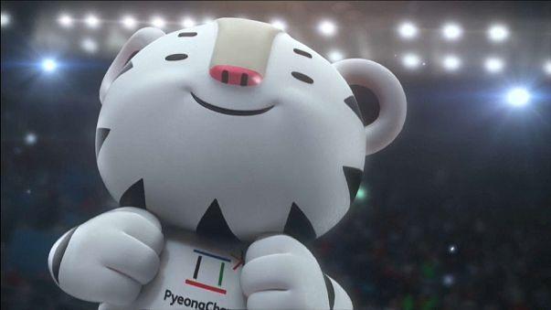 Corea del Sur presenta las mascotas de los Juegos de Pieonchang