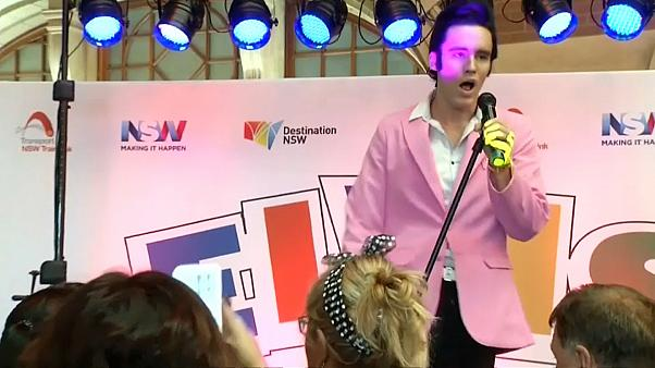 Fãs de Elvis reúnem-se em Sidney