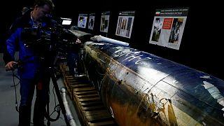 "U.S. Defense says is a ""QIAM"" ballistic missile manufactured In IRAN"
