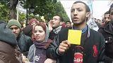 Protestos contra a austeridade continuam na Tunísia