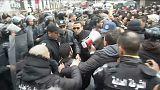 800 detenidos en Túnez en protestas contra las política de austeridad