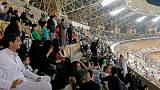 Saudi women attend football match for first time